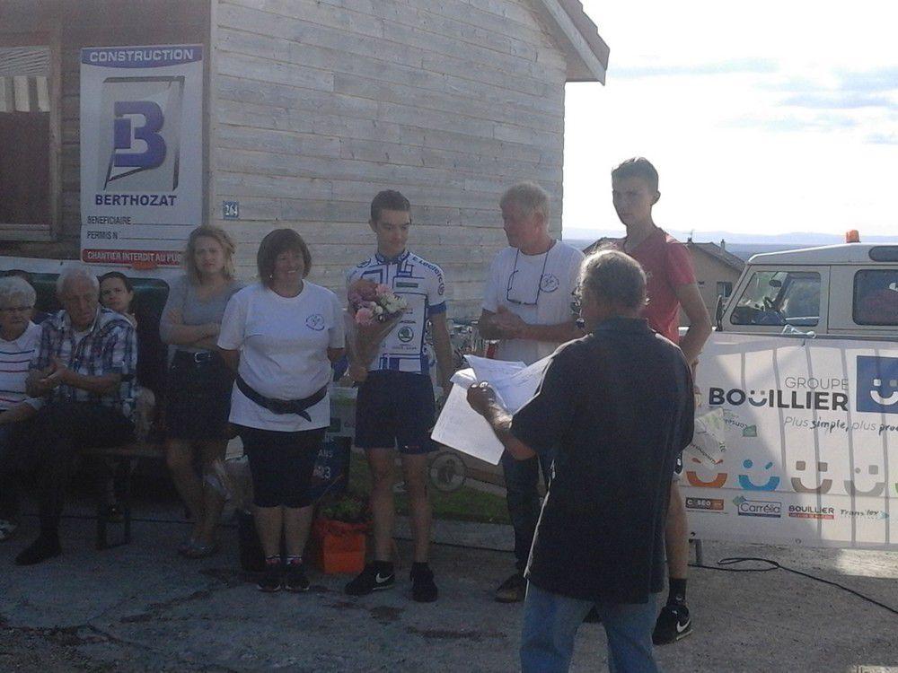 Deux premières places pour l'ECBB à la montée de St Jean d'Evreux !