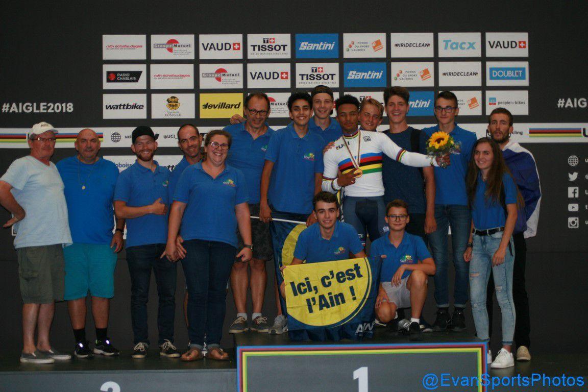 Championnats du monde juniors sur piste à Aigle