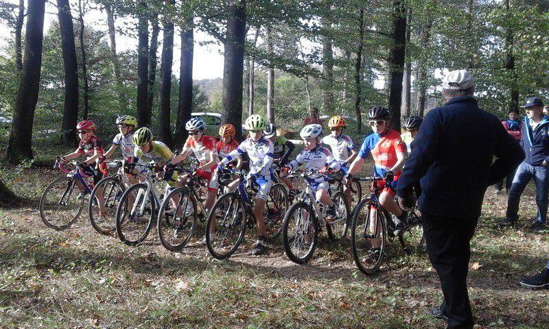 Beau succès du cyclo cross de l'ECBB