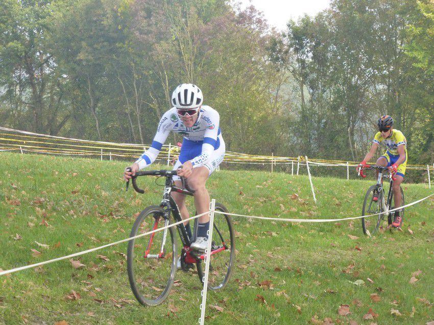 Cyclo cross de Biziat, plusieurs podiums pour l'ECBB