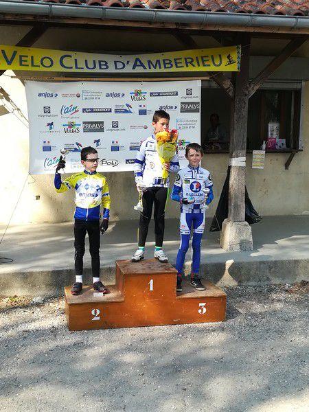 Des podiums à Chazey pour les jeunes de l'ECBB