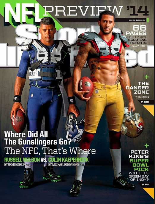 Wolfpacker Russell Wilson is on the latest Sports Illustrated cover, their NFL Preview