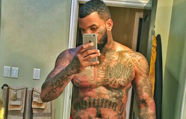 Détail d'une photo postée par The Game sur son compte Instagram en novembre 2015. - The Game - Instagram
