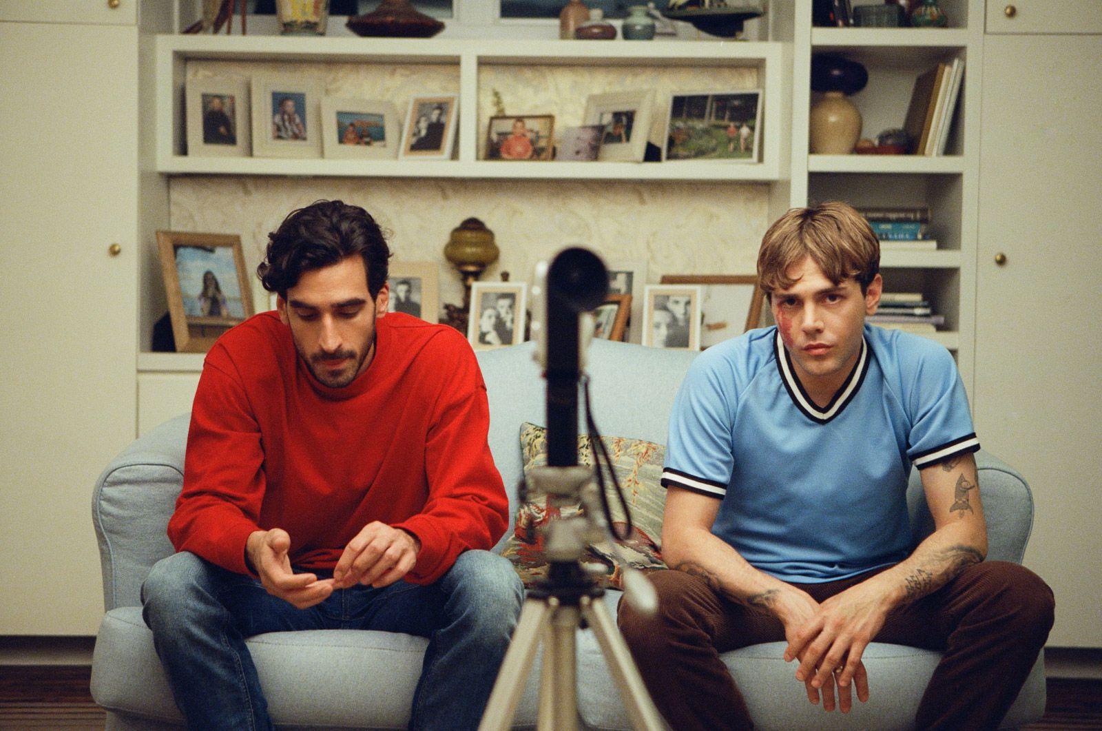 Matthias & Maxime : Photo Xavier Dolan