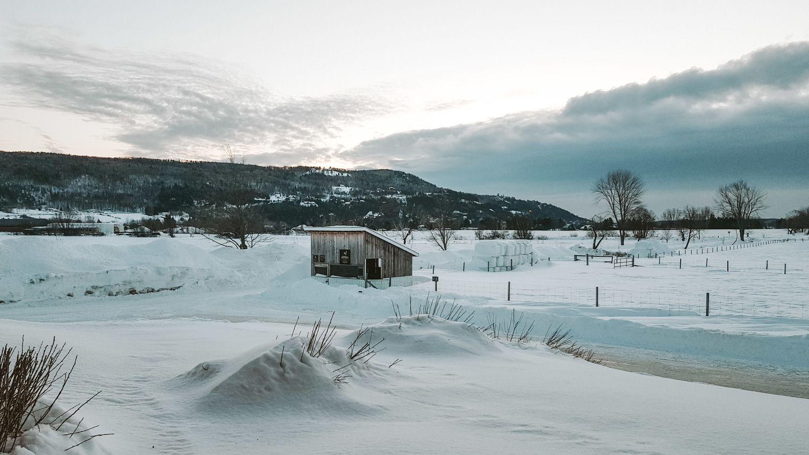 L'hiver au Québec: Entre Charlevoix et Saguenay-Lac-Saint-Jean