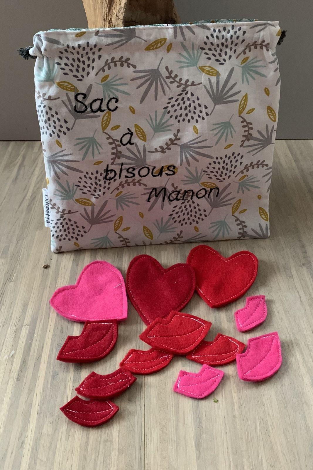 Le sac à bisous de Manon