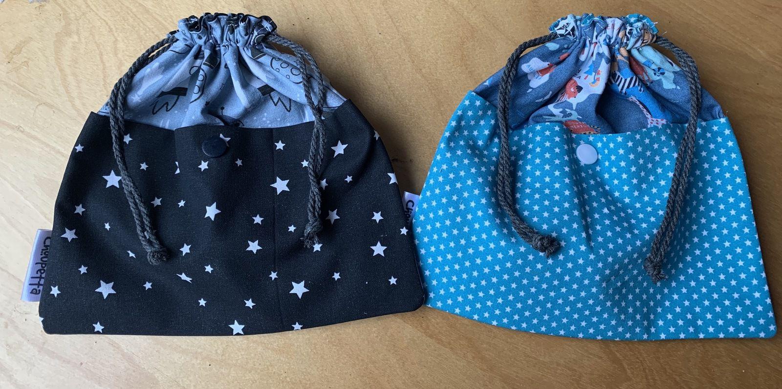 Les sacs à bisous de Jules et Louis