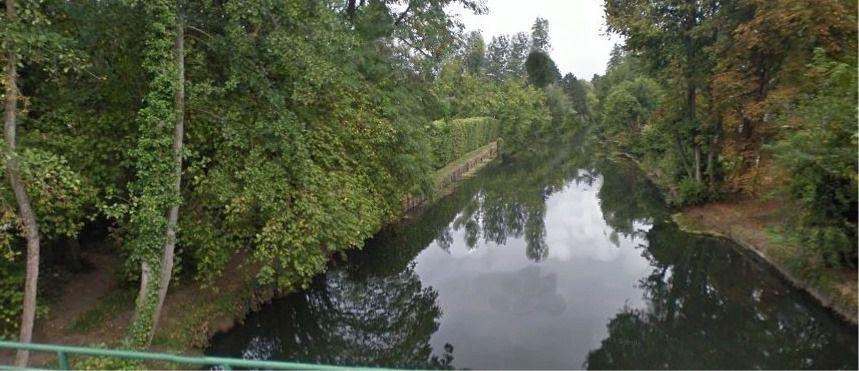 Vue de l'Eure depuis Sainte-Gemme-Moronval