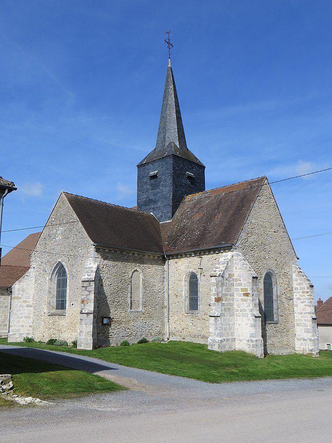 Tréfols Eglise Saint Médard - Par Litlok — Travail personnel, CC BY-SA 4.0, https://commons.wikimedia.org/w/index.php?curid=58311725
