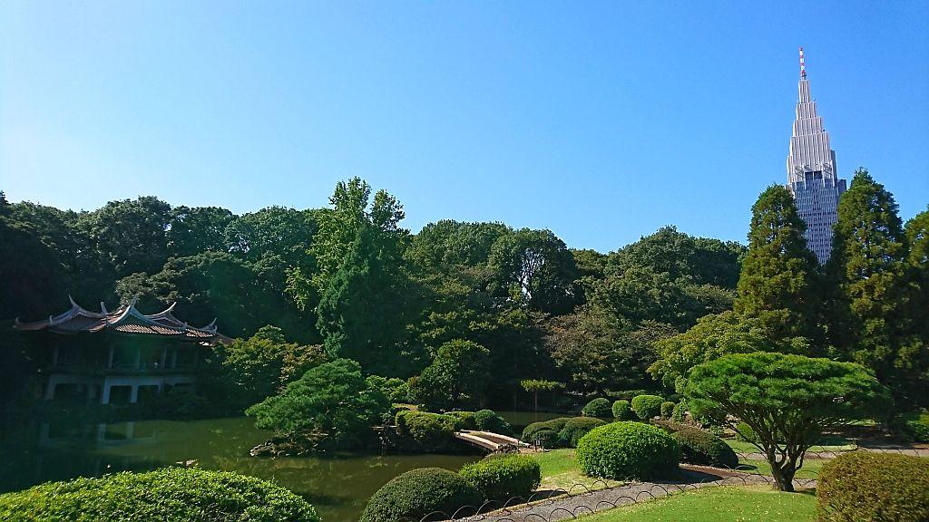 Le parc de Shinjuku