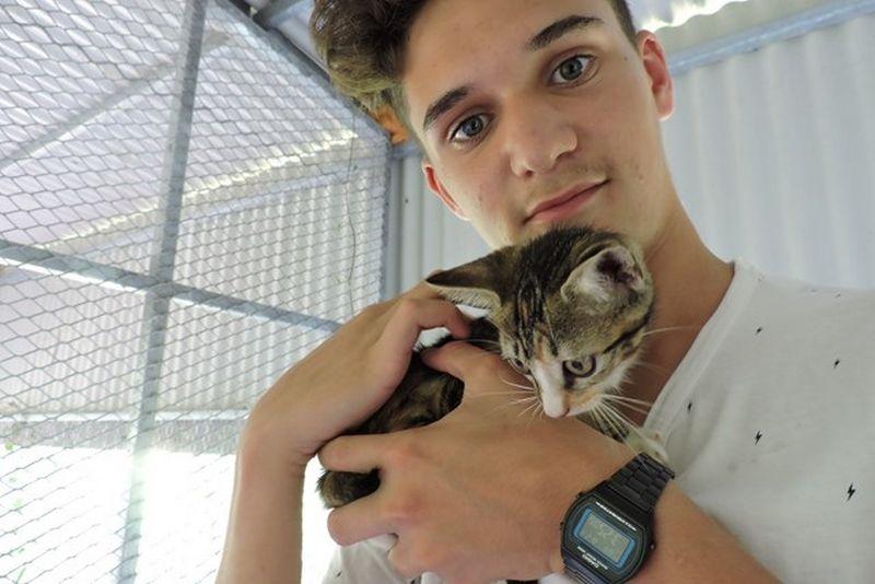 DOUCHKA s'appelle MAICHA - chaton femelle tricolore - adoptée à 2 mois