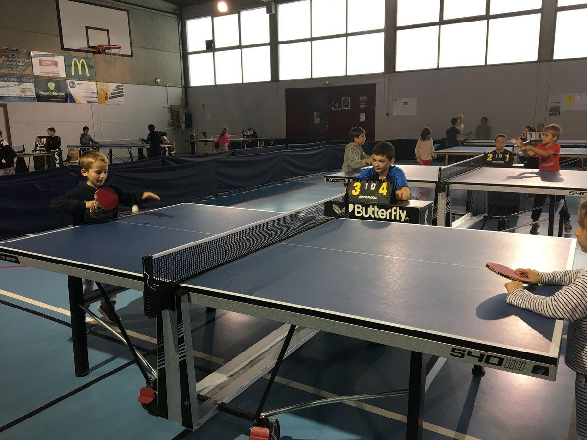 Tournois de tennis de table