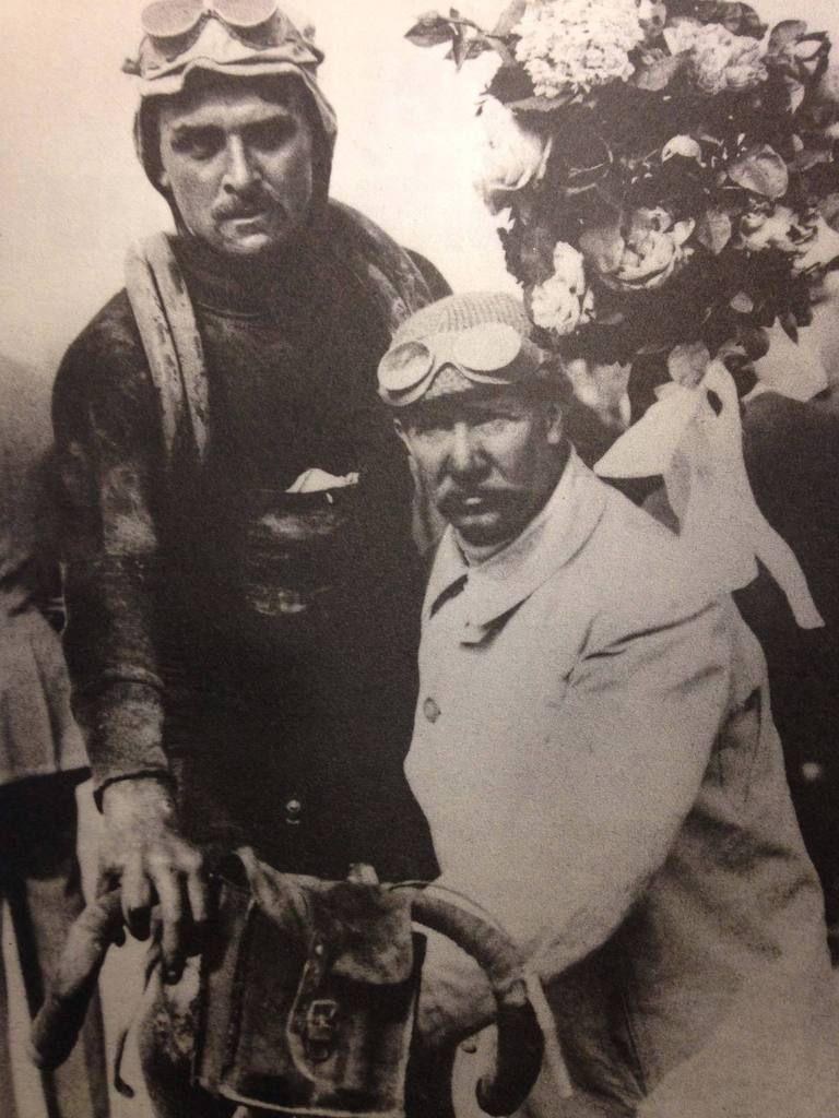 3 podiums en 3 ans dont une victoire l'année où Blériot traverse la Manche.
