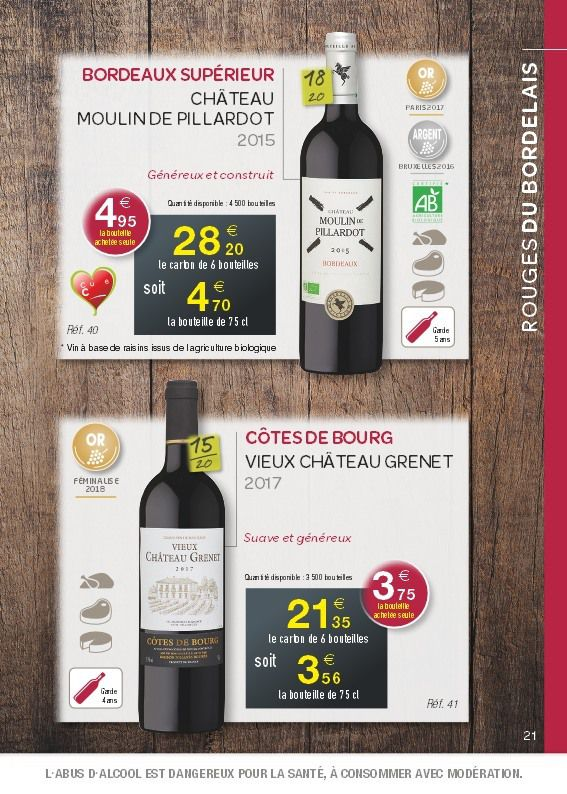 CATALOGUE BONS CRUS 2018