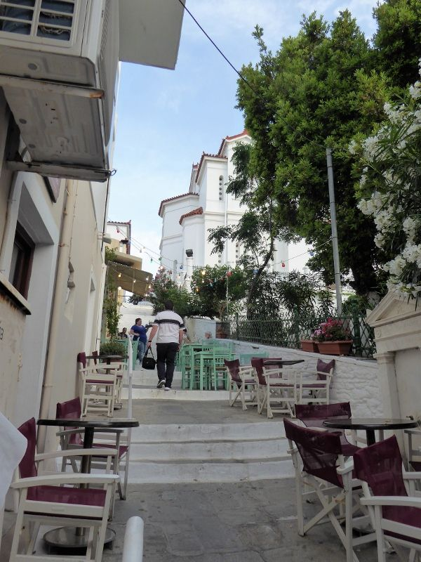 de Lavrion à Paros