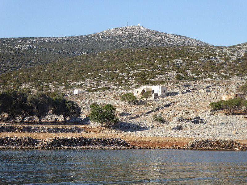 ASTIPALEA , cote sud ouest (2), Hora (3), baie Aridili ( 2 ), ilots