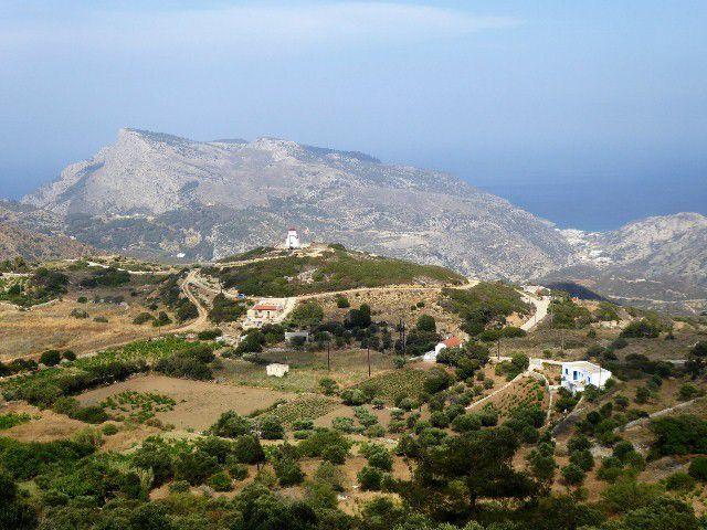 MENETES ( 2 ) , une chapelle , Finiki , gorges ,villages de montagne