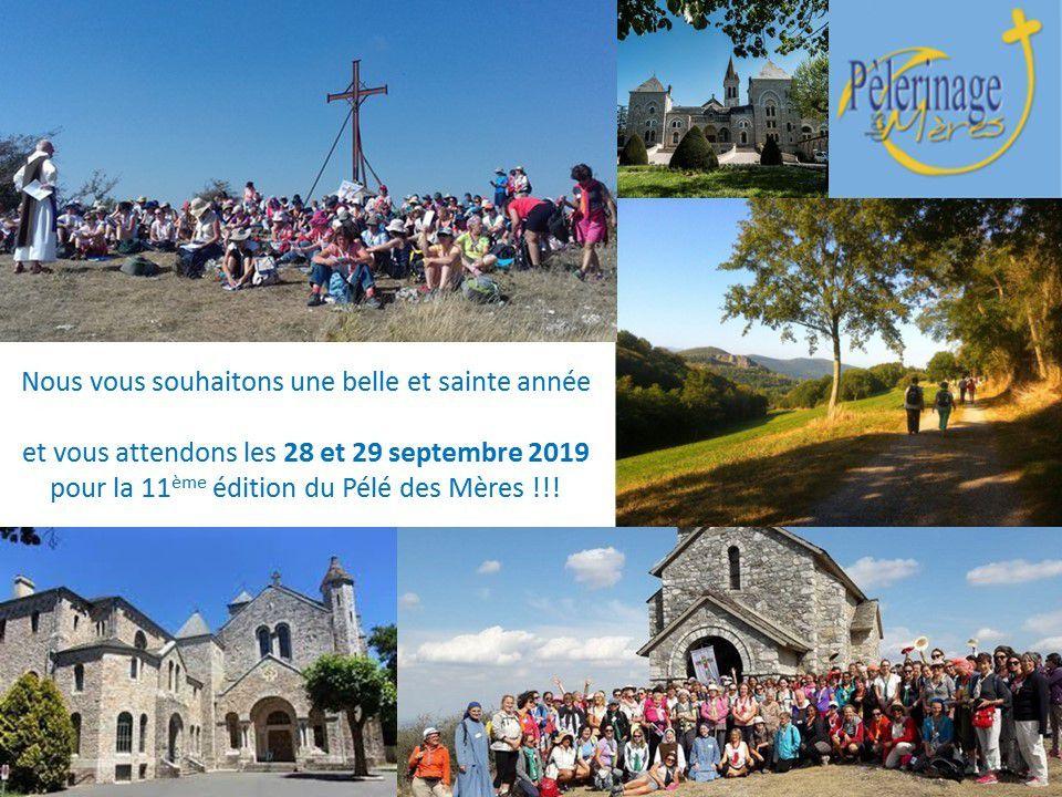 """Belle Année Sainte """"Pélérinage Pélé des Mères"""