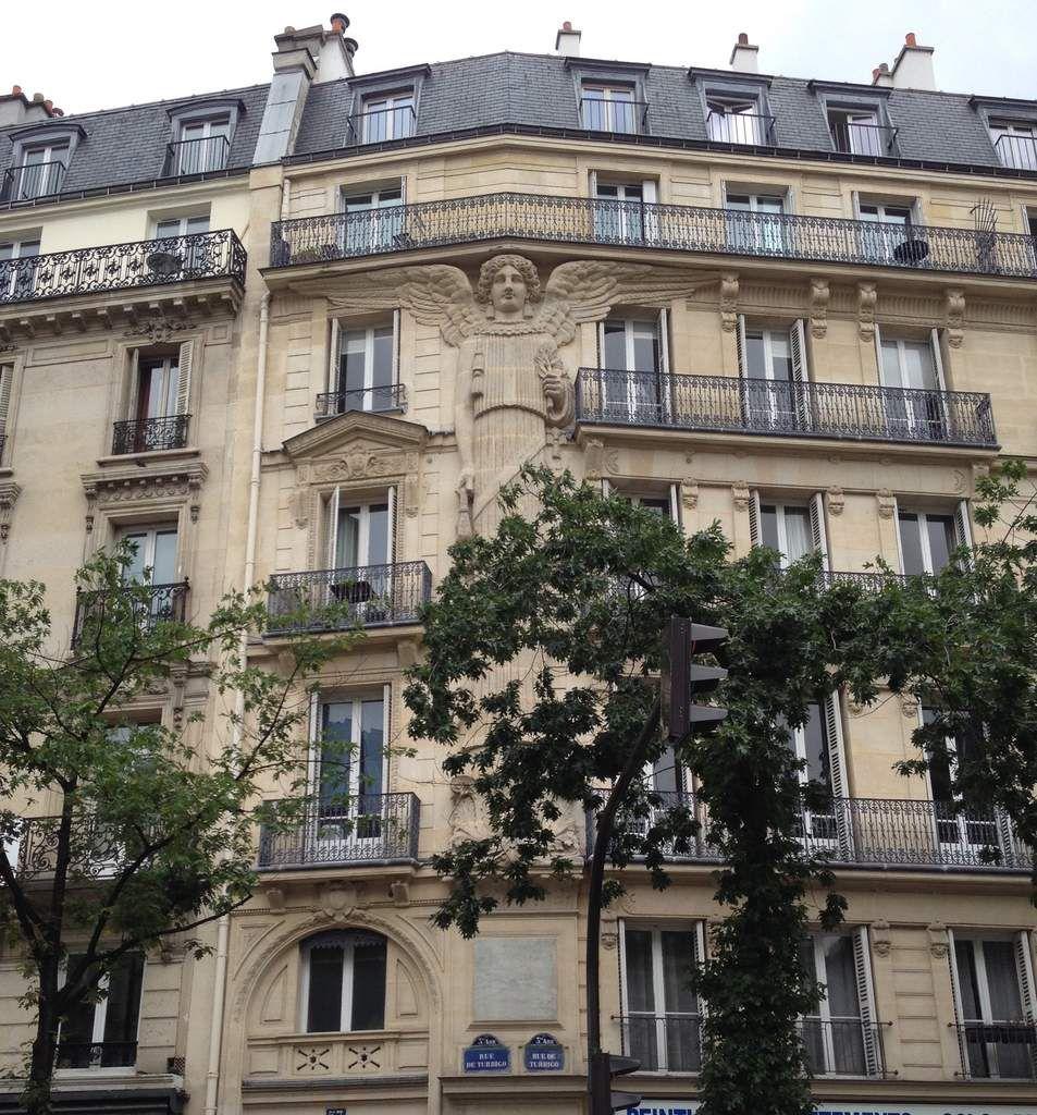 L'ange des Arts et Métiers, Paris. Photo Luciamel