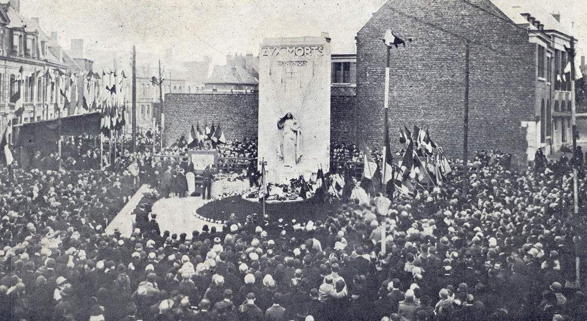 A Béthune, le monument aux morts inauguré en 1928