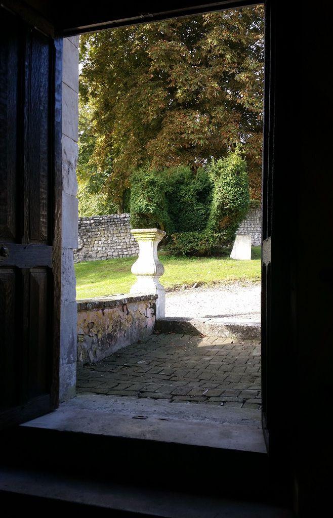 Le cimetière de la chapelle d'Hautot sur Seine