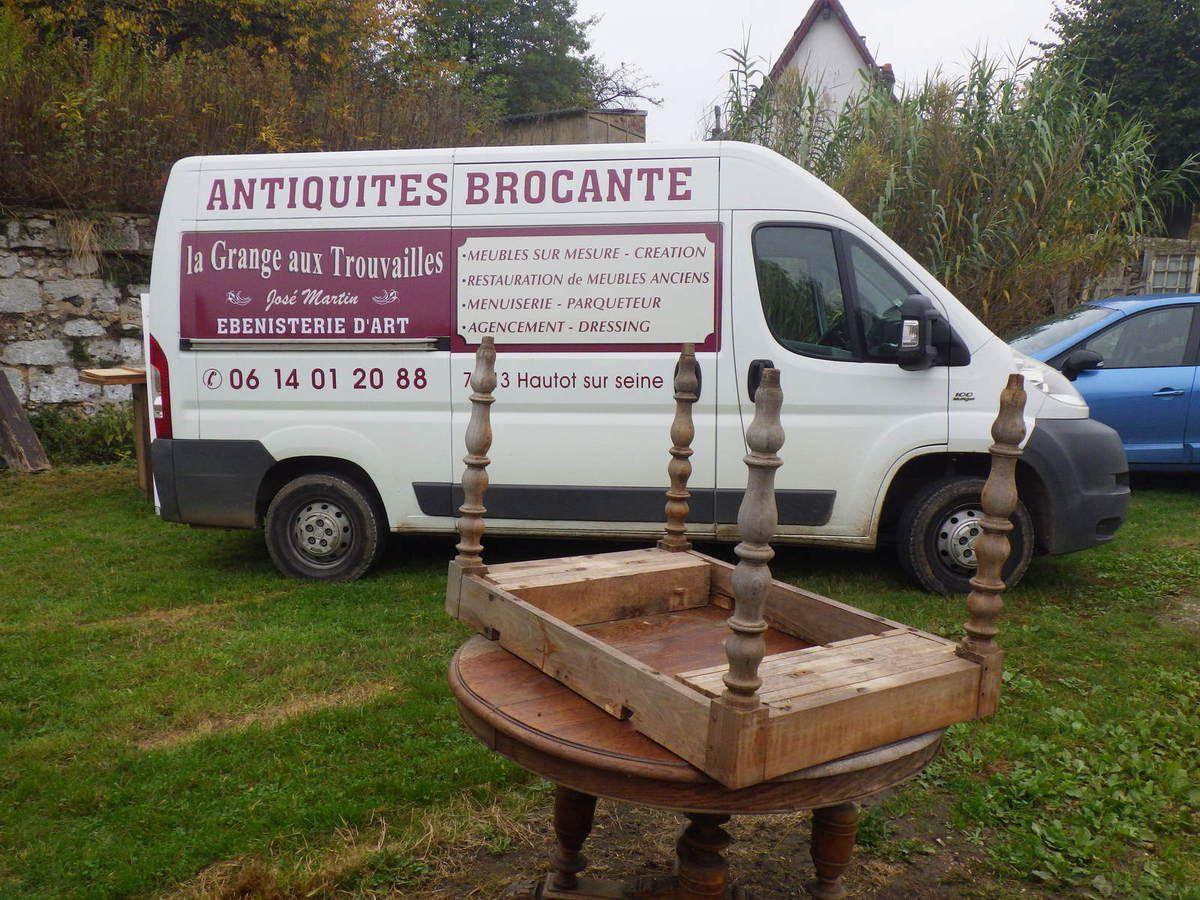 La Grange aux Trouvailles (Ebenisterie d'Art) à Hautot sur Seine
