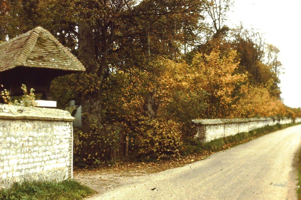 Le chemin de la Croix Blanche entre Sahurs et Hautot-sur-Seine