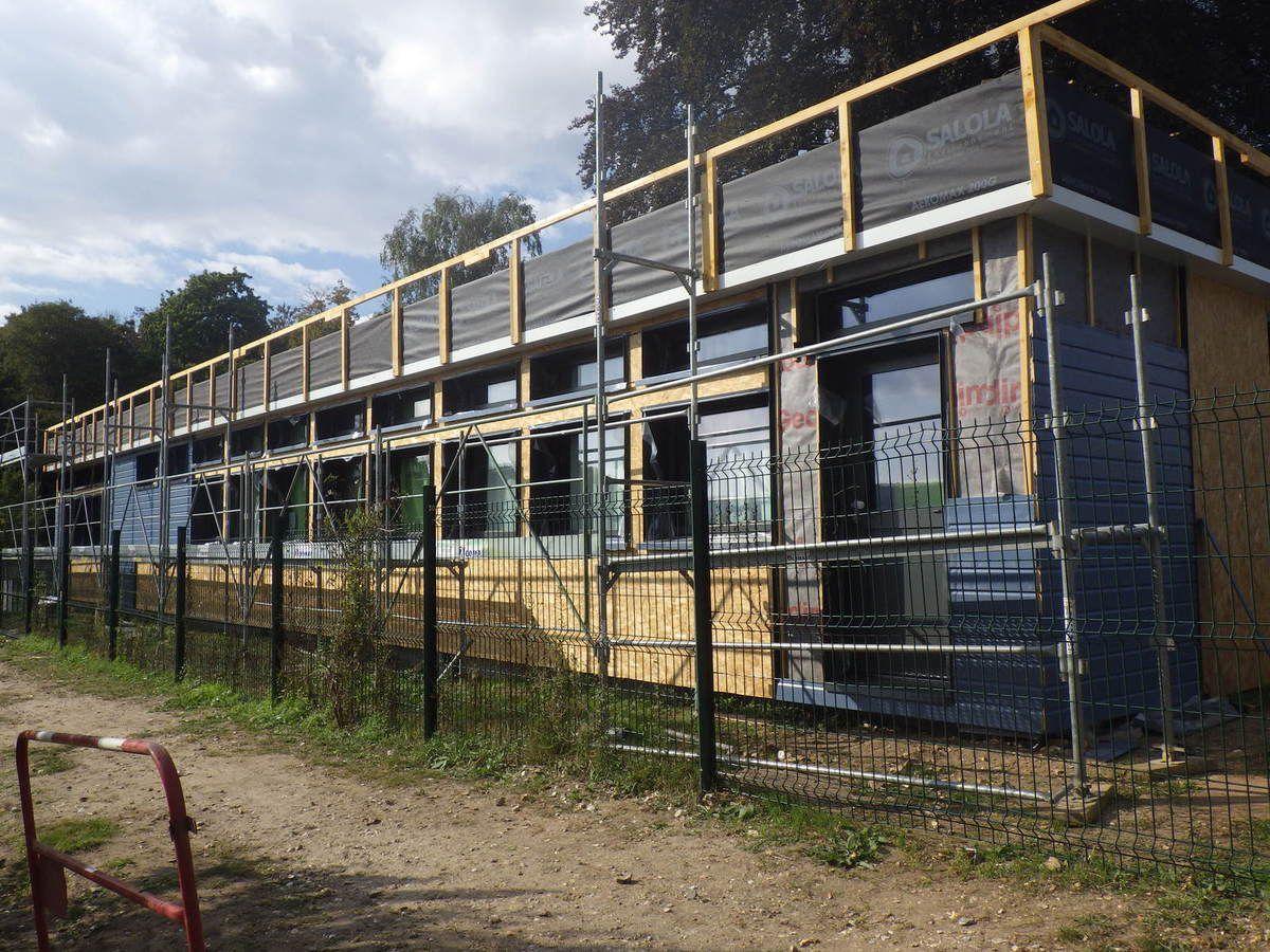 La rénovation de l'école maternelle d'Hautot sur Seine