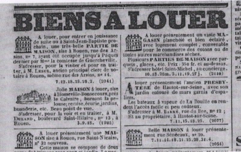 Le presbytère de Hautot sur Seine