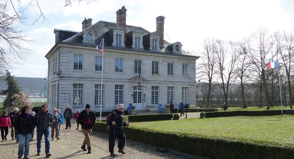 Randonneurs à Hautot-sur-Seine