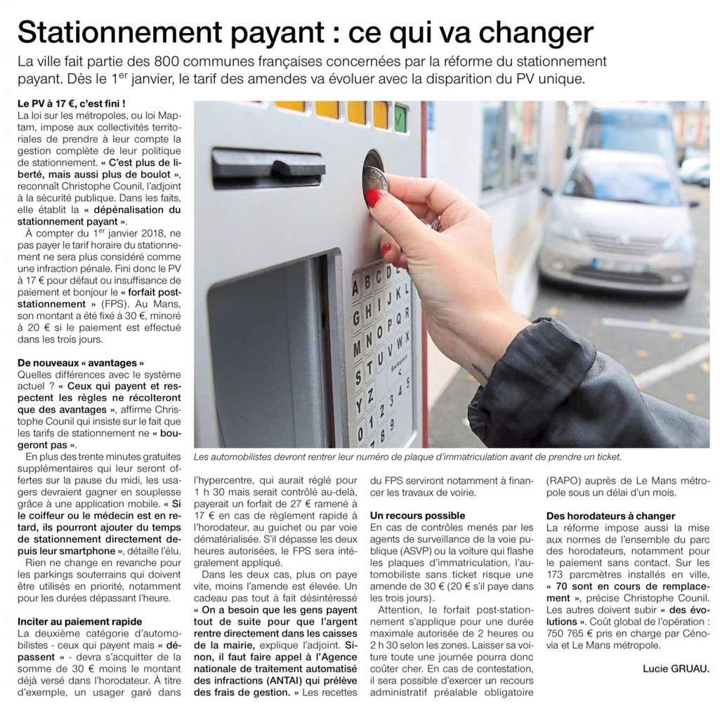Ouest-France, mardi 24 octobre 2017