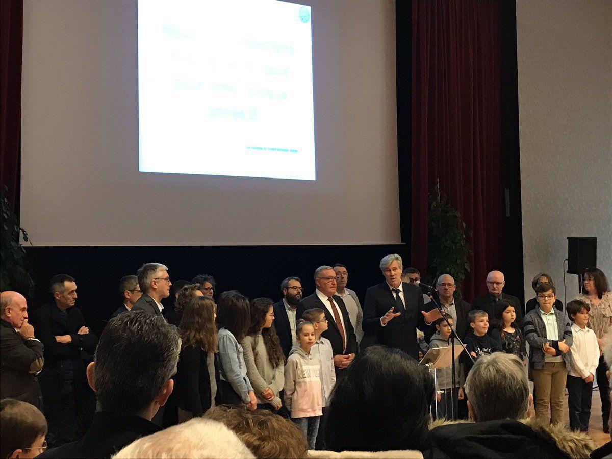 5 janvier : La Chapelle Saint-Aubin ouvre le bal des vœux 2019. De belles occasions de jeter un coup d'œil dans le rétro de 2018 et se projeter dans l'avenir. Cela tombe bien les projets ne manquent pas.