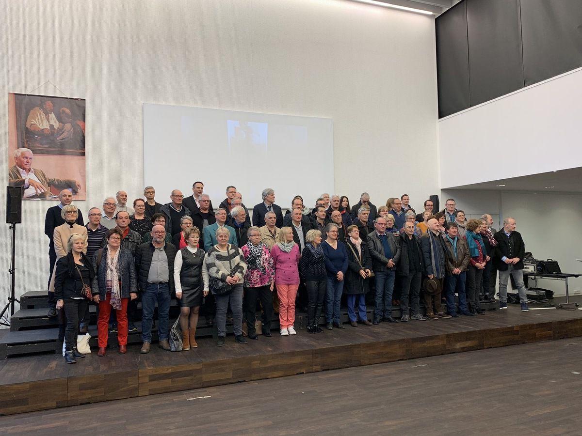 8 février : Les Élu.e.s socialistes participent à la cérémonie des remises des médailles aux retraités des collectivités de la Ville du Mans et Le Mans Métropole. Un moment convivial pour saluer l'engagement et le dévouement de ces agents, et leur souhaiter une bonne retraite.