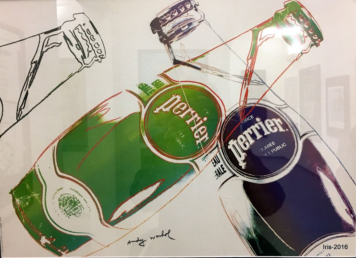 Perrier by Warhol (2013)