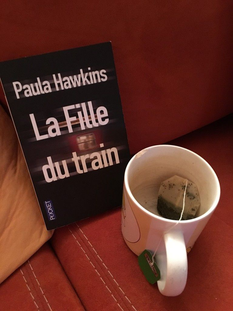 La fille du train ; Paula Hawkins