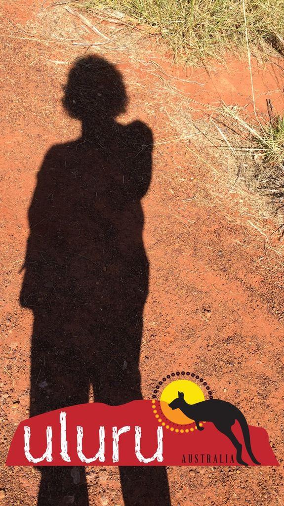 Walk in Uluru...