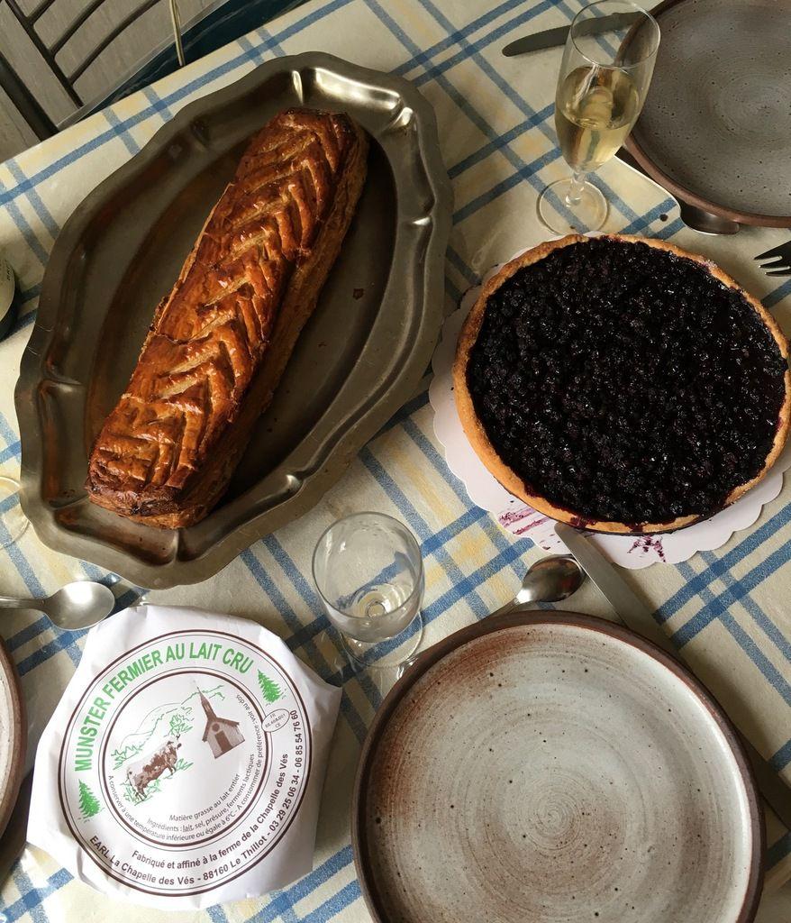 Pâté lorrain, Munster et tarte aux brimbelles... tradition lorraine !