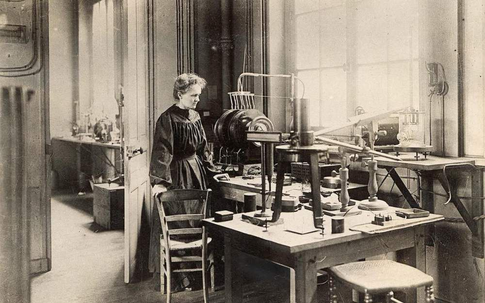 Marie Curie, in Google.fr