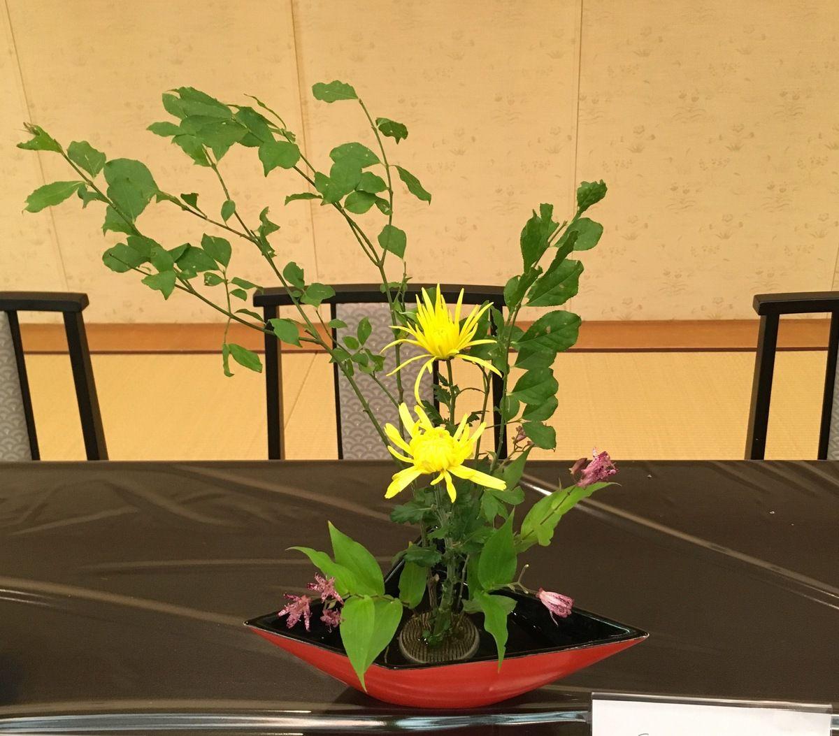 Mon premier ikebana