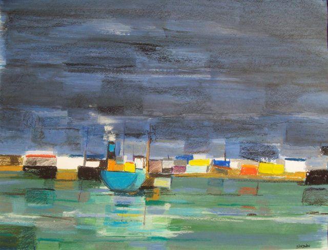 By Xavier Simonin, Orage sur POrt-de-Bouc, 2014