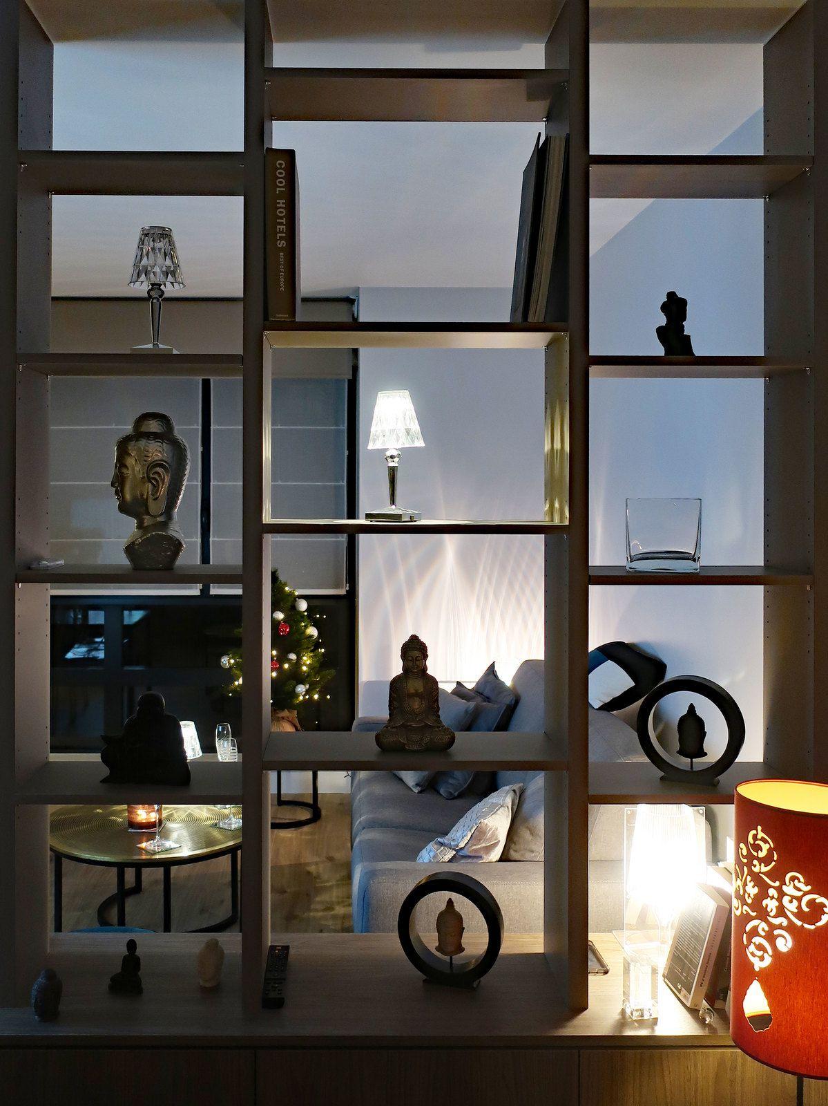 Un petit studio qui devient un grand espace de vie...