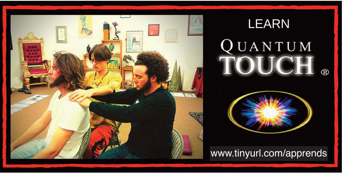 Learn Quantum Touch: The Power To Heal online!!!