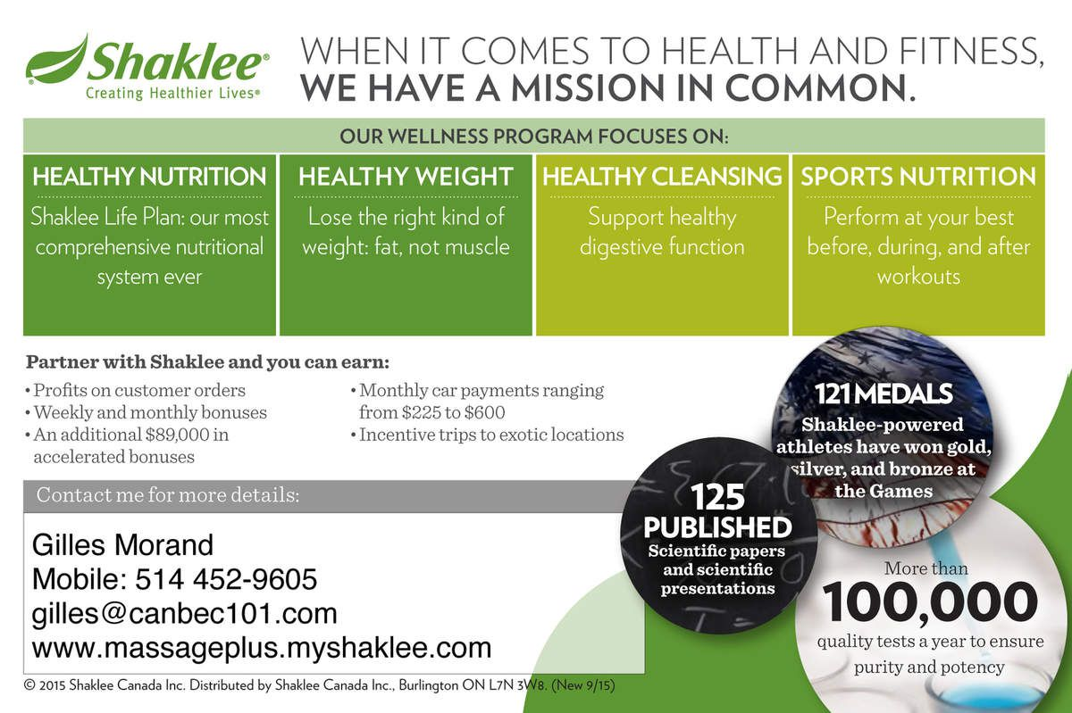 Make more money with Shaklee and Join The Green  Movement