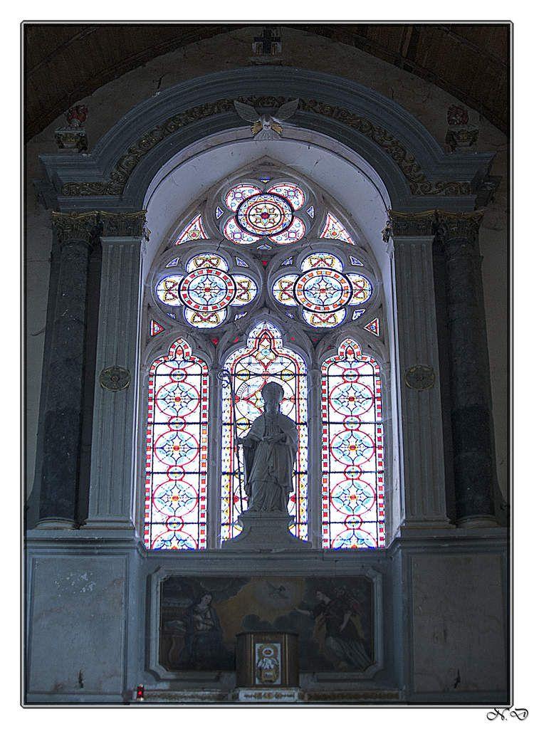 L'église Saint-Hilaire d'Asnières-sur-Vègre