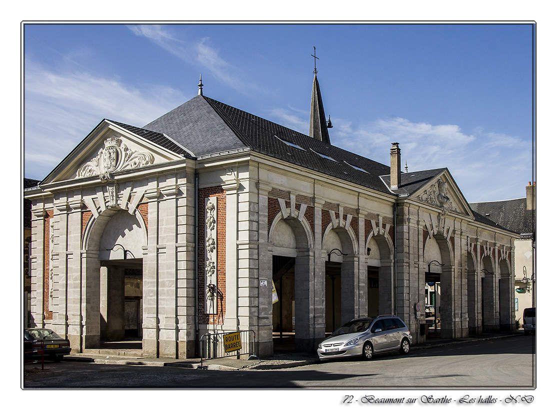 Beaumont-sur-Sarthe - Les Halles
