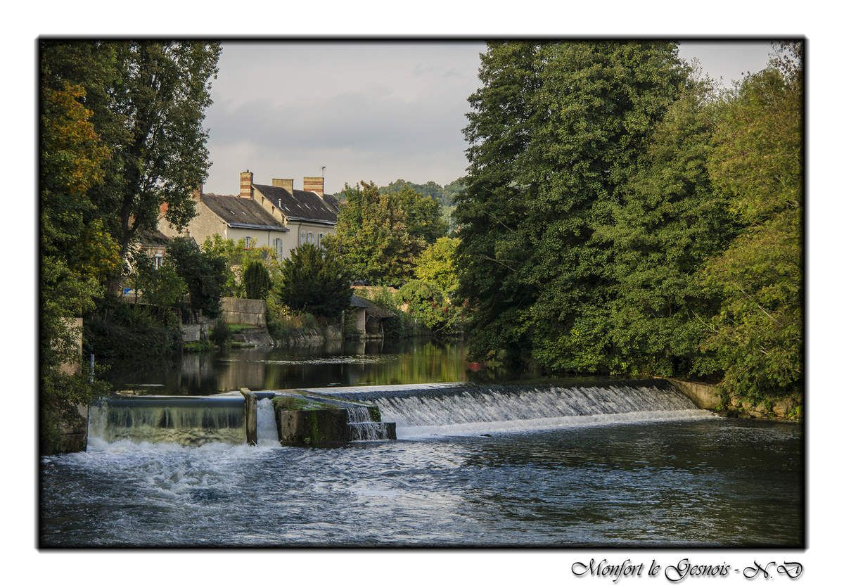 72 - Montfort le Gesnois - Sarthe