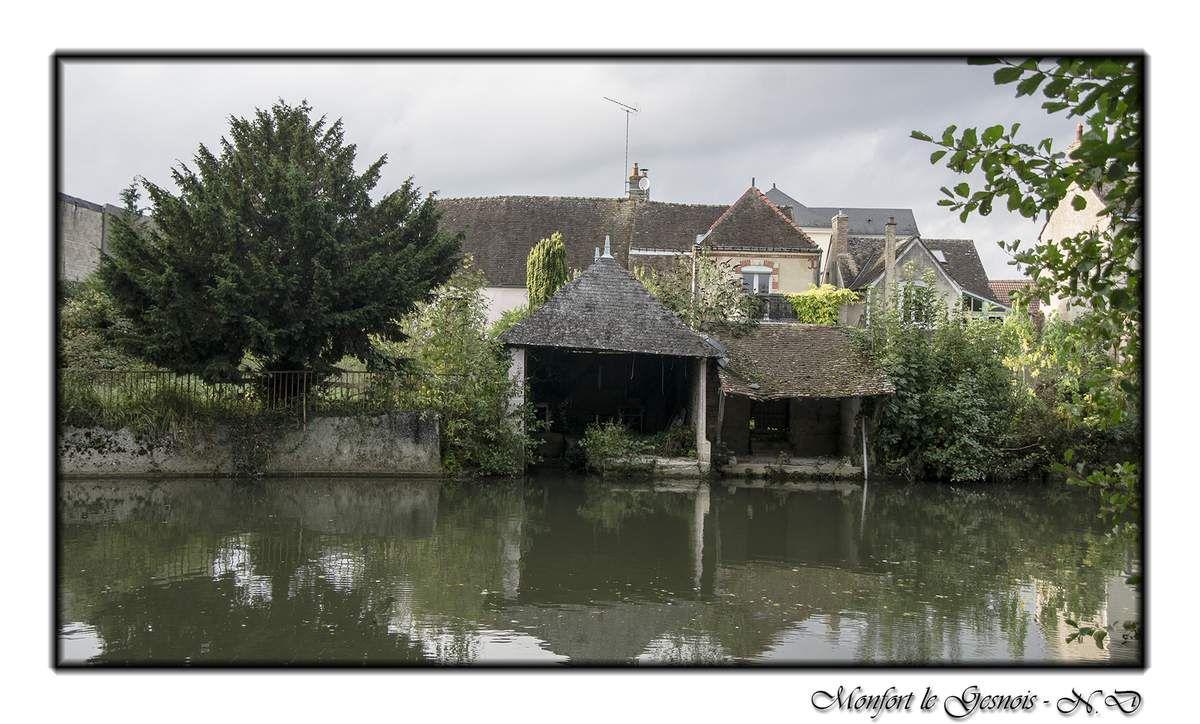 Le plan d'eau étang de l'Ablette, de Montfort-le-Gesnois.