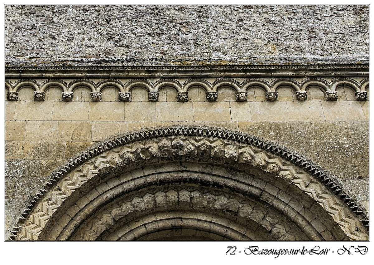 Église Saint-Aubin - Du XIe siècle classée au titre des monuments historiques depuis 1862.