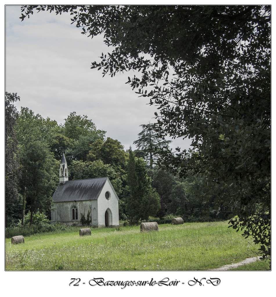 Le château de la Barbée - La chapelle de Sainte Barbe - Bazouges-sur-le-Loir