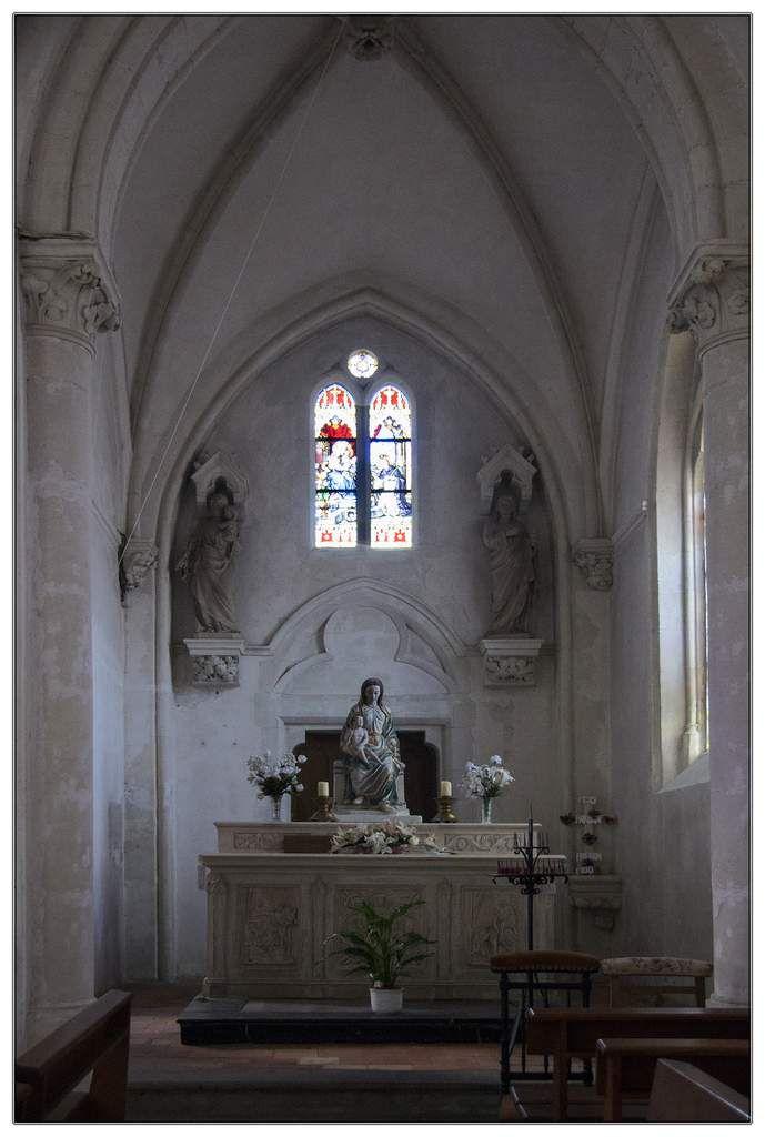 Intérieur de l'église Saint-Martin-de-Tours